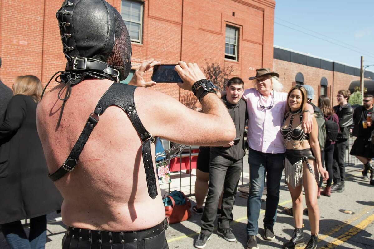 The weather was beautiful for the 35th annual Folsom Street Fair, which hosted