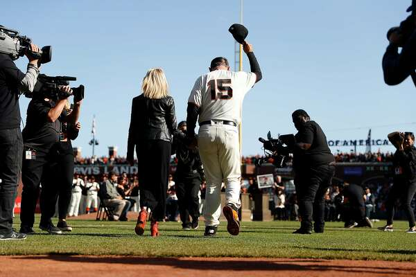 Giants' emotional retirement ceremony for Bruce Bochy