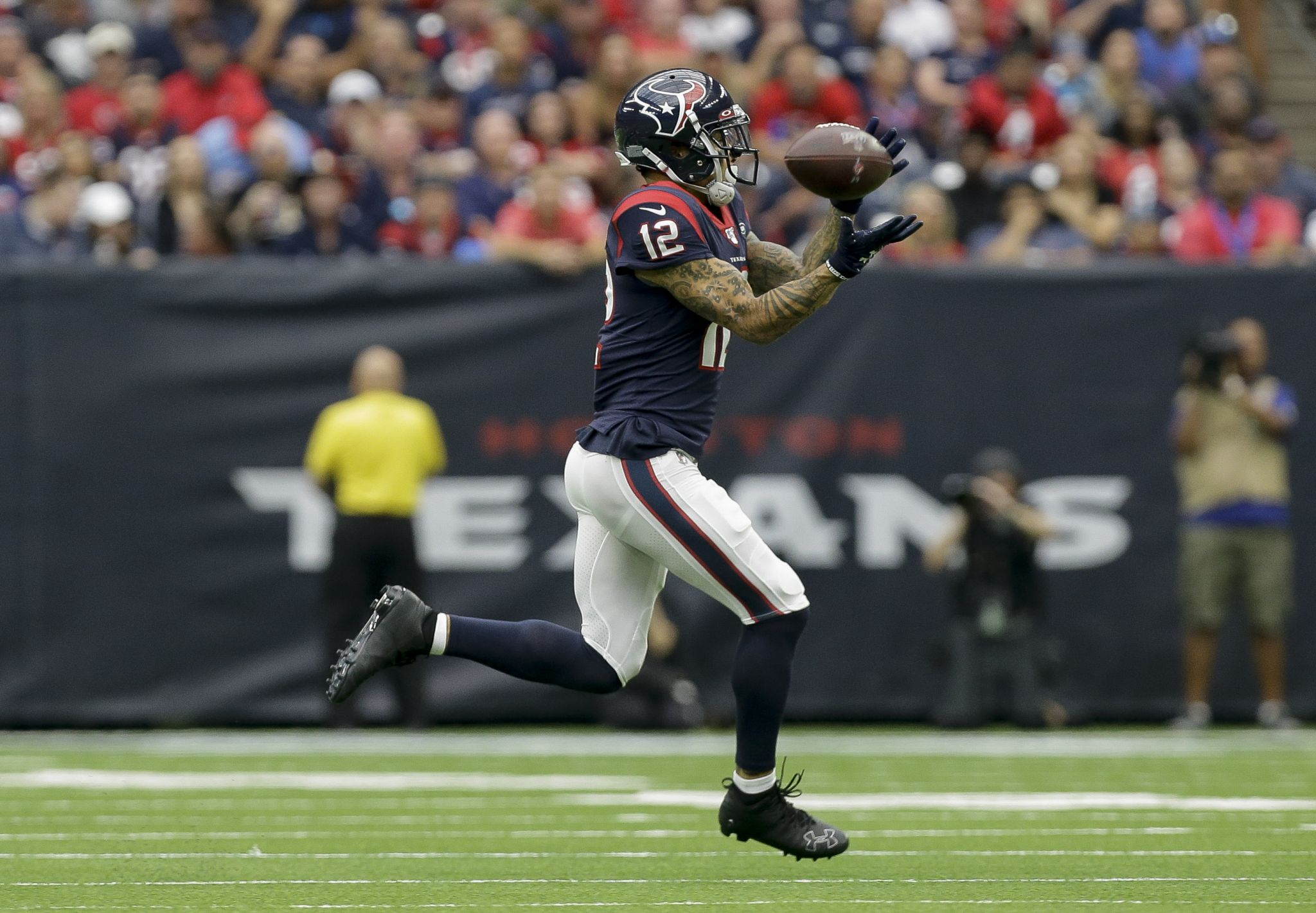 Texans' Kenny Stills limited in practice