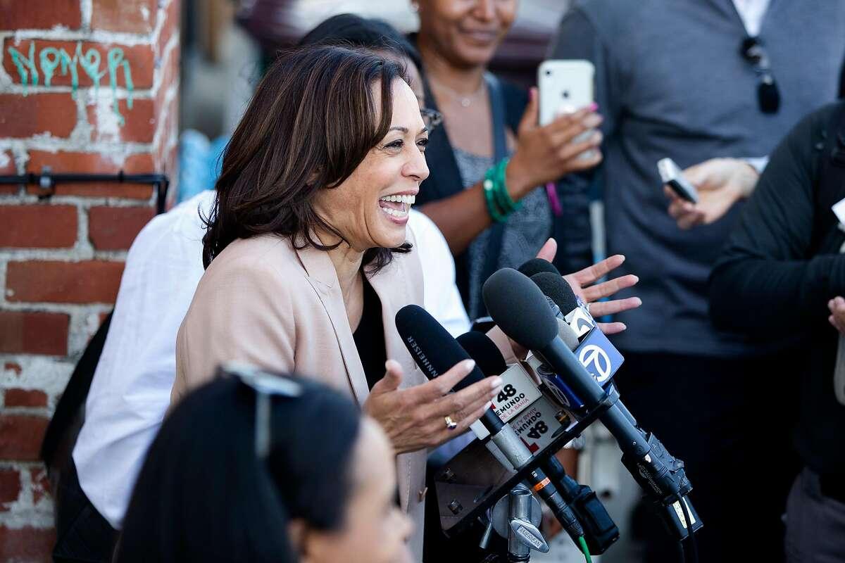 Kamala Harris, the U.S. senator from California, is presidential candidate Joe Biden's pick for vice president. It turns out that she has good taste in wine.
