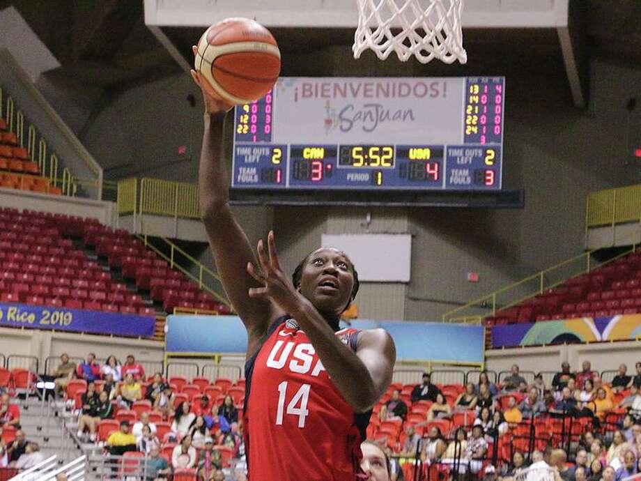 Tina Charles Photo: USA Basketball / Contributed Photo
