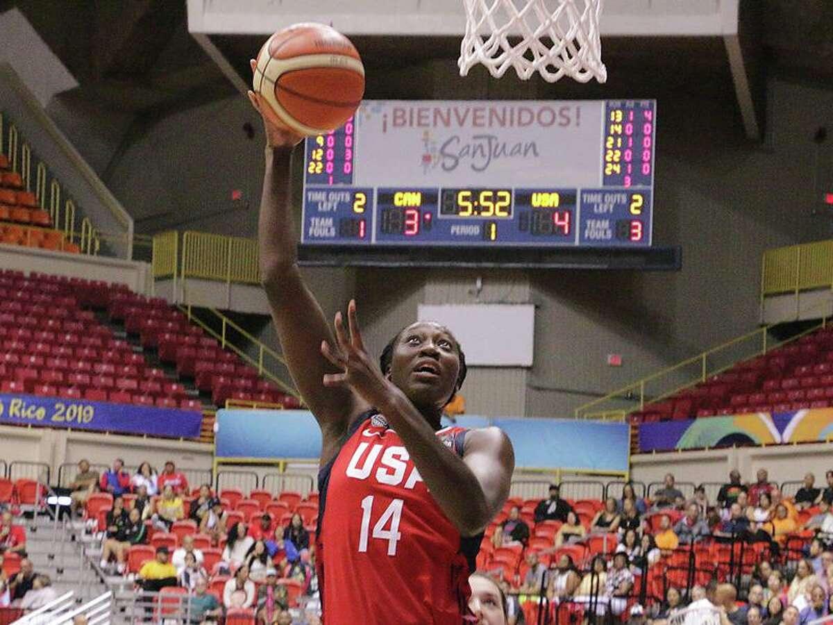 USA Basketball center Tina Charles