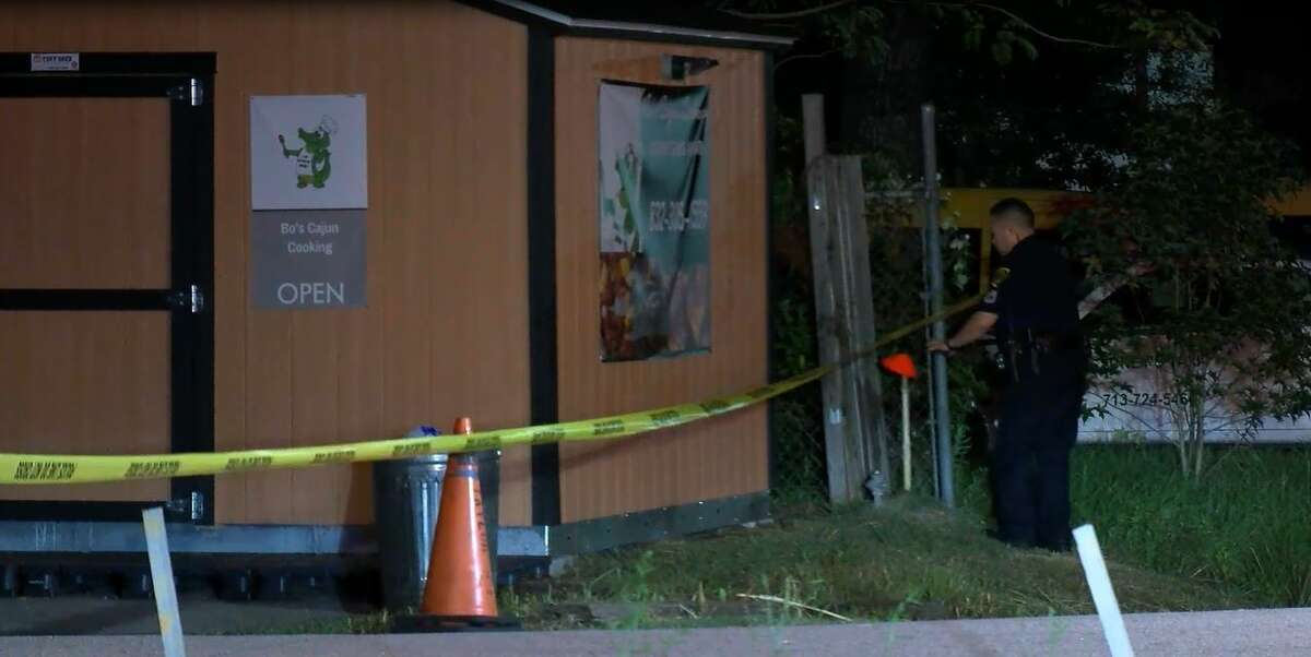 A man was transported to the hospital overnight after police said he was shot during a bar fight that escalated after the two men began arguing.