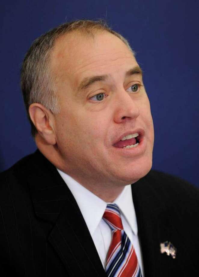 State Comptroller Tom DiNapoli says union backing will help him defeat Henry Wilson, his better-financed Republican opponent. (Skip Dickstein/Tmes Union) Photo: Skip Dickstein / 00007504A