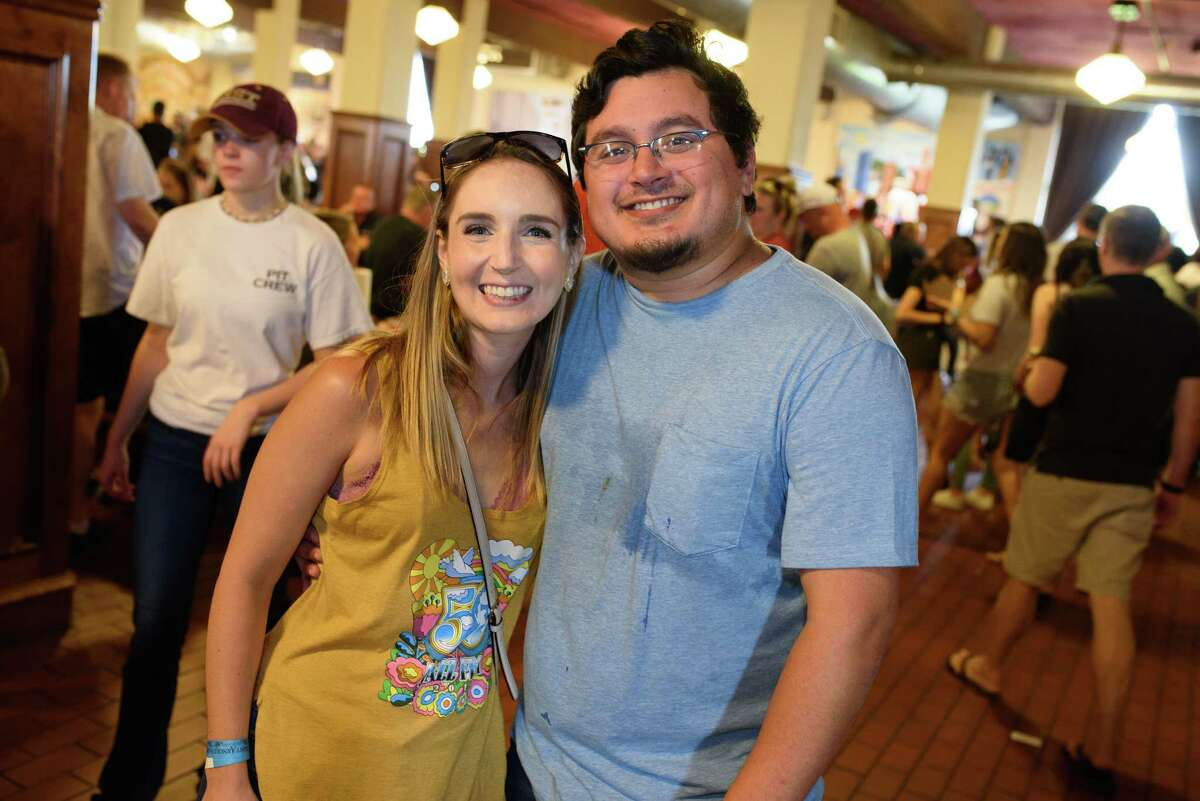 Scene from the 2019 Houston BBQ Throwdown at Saint Arnold Brewing Company.