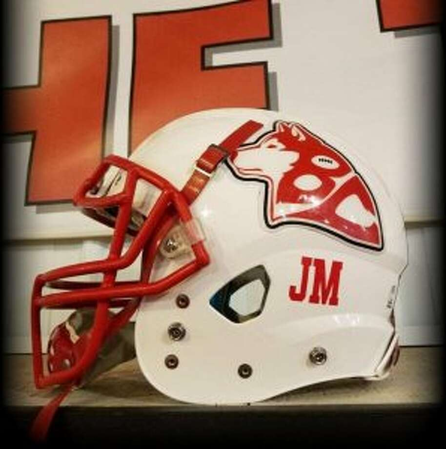 Benzie Central varsity football players will honor the memory of Joseph Miller by wearing his initials on their helmets the remainder of their football season. (Courtesy photo)