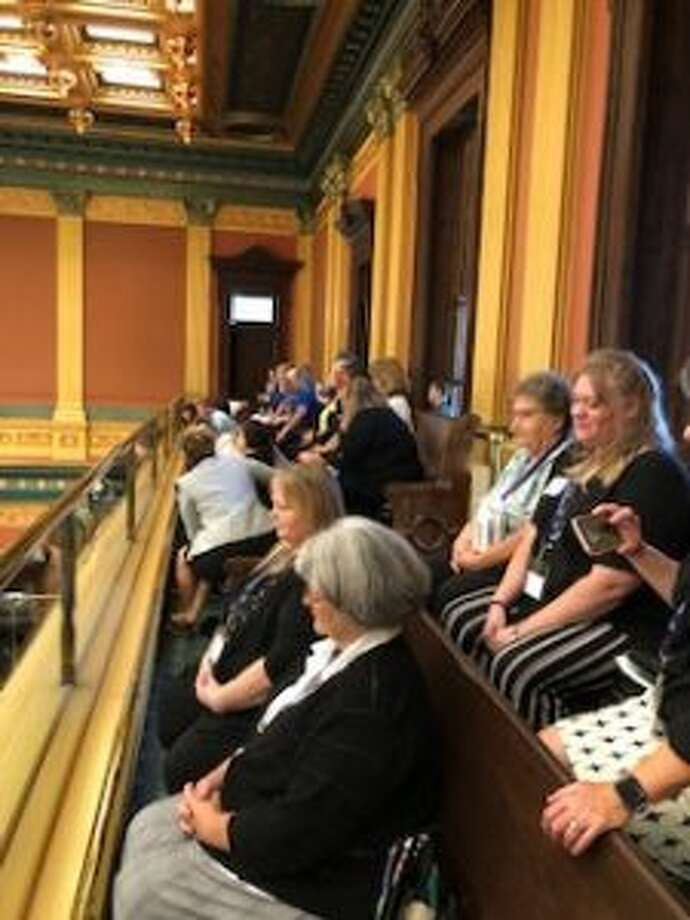 Caregivers from Benzie County attended the first ever Annual Relative Care Day held in Lansing on Sept. 18. (Courtesy Photo)