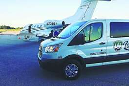 Lakeshore Shuttle & Tours will often make tours to Blacker Airport or other local airports. (Courtesy photo)