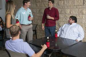 Midland young professionals gathered Aug. 21 at Basin Burger for a networking event.