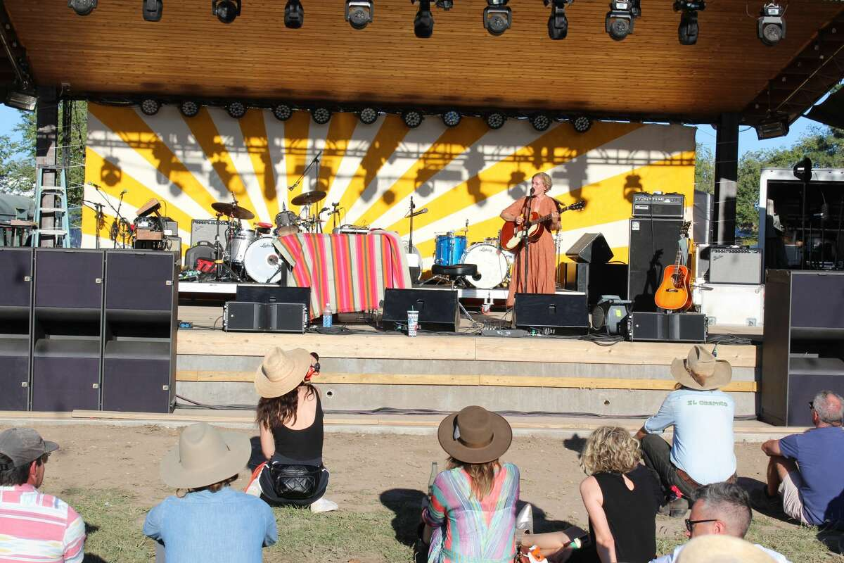 El Cosmico hosted the14th Annual Trans-Pecos Festival of Music + Love in Marfa on Sept. 26-29. Photos of the festival were taken that Friday-Sunday. Tift Merritt performed Friday.