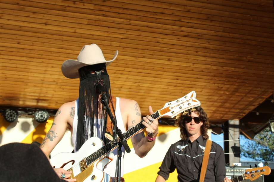 El Cosmico hosted the14th Annual Trans-Pecos Festival of Music + Love in Marfa on Sept. 26-29. Photos of the festival were taken that Friday-Sunday. Photo: Rich Lopez/MRT