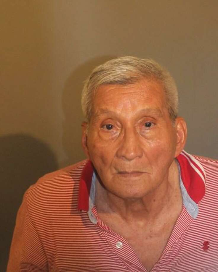 Mariano Canales, 74, was arrested in Danbury after police said he tried to break through a housemate's door with a machete. Photo: Contributed / Hearst Connecticut Media