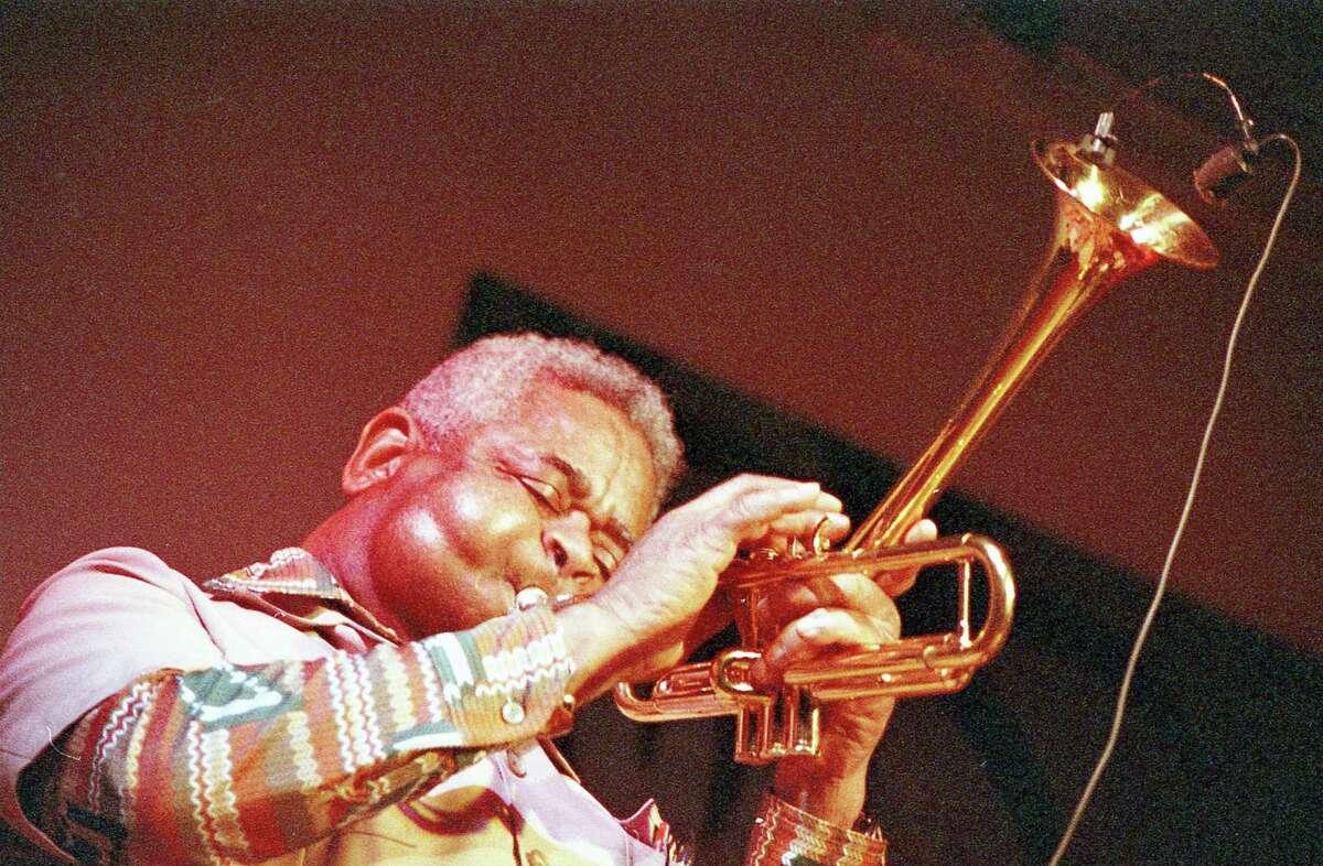 Dizzy Gillespie at Club Oasis, 3722 S. Gessner, April 19, 1989.
