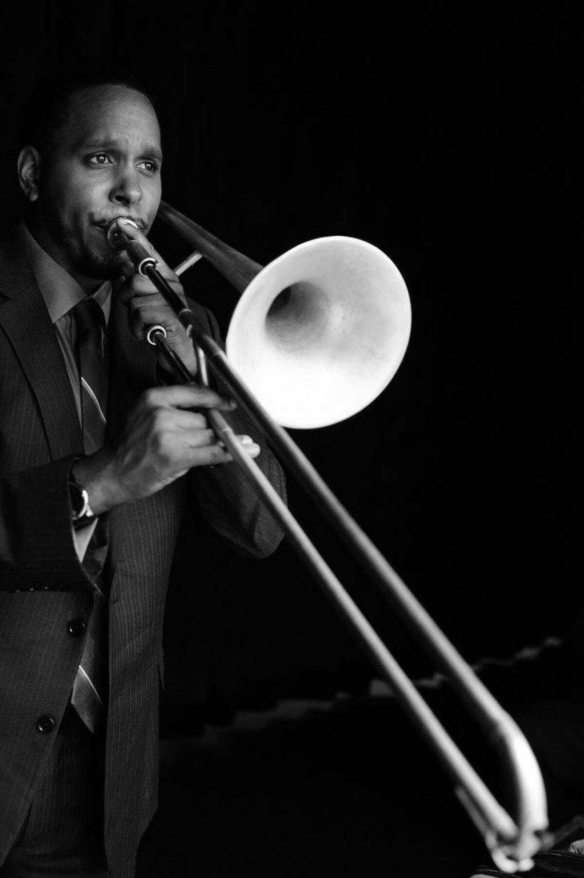Trombonist Vincent Gardner is the artistic director of Jazz Houston and a member of Wynton Marsalis' Jazz at Lincoln Center Orchestra.