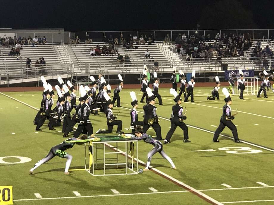The Trumbull High School Golden Eagle Marching Band (THSGEMB) Fall Classic was held at Trumbull High School on Saturday, Sept. 28. Eleven marching bands performed and the THSGEMB performed their 2019 show Toxic, in judged exhibition. While they did not compete, the THSGEMB earned a score of 88.625, their highest yet this season. Photo: Contributed Photos