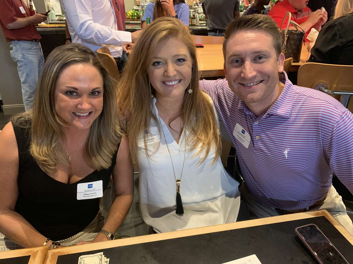 YPE: Megan Patton, from left, Haley Blodgett and Josh Anderson
