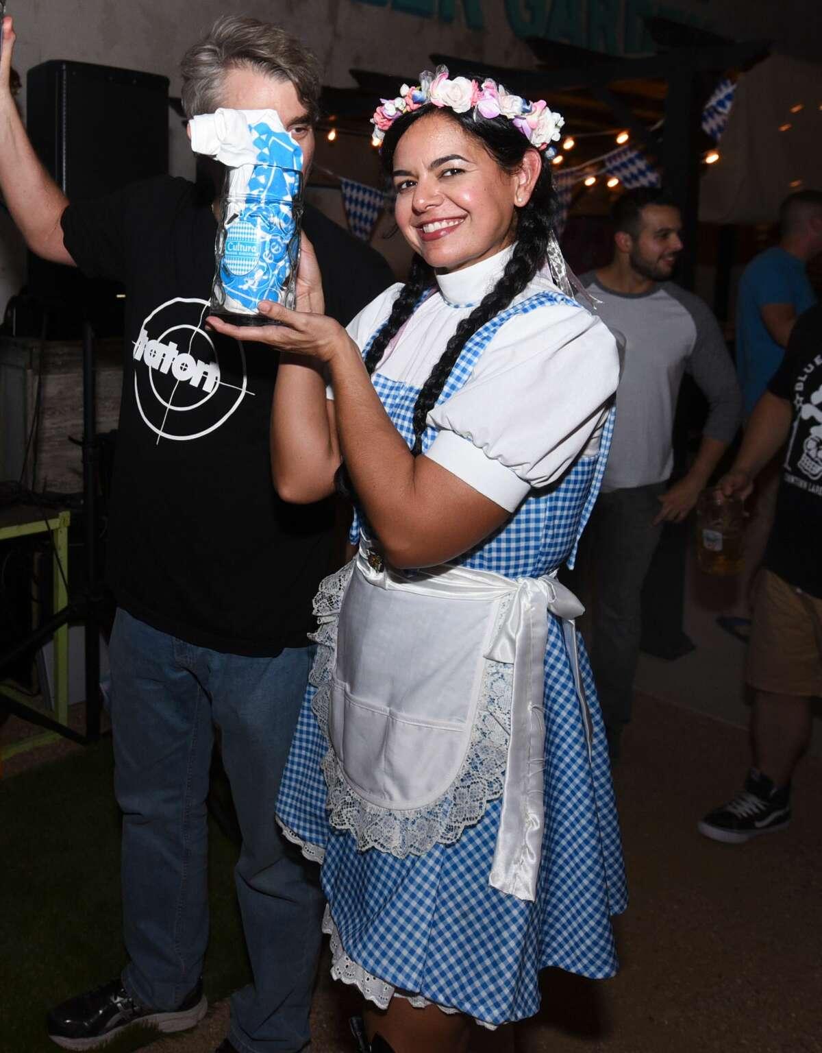 Cultura Beer Garden celebrates Oktoberfest, Saturday, Sep. 28, 2019.