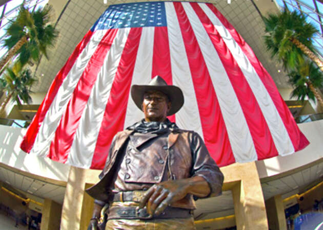 Could John Wayne's racist views lead to airport name change?