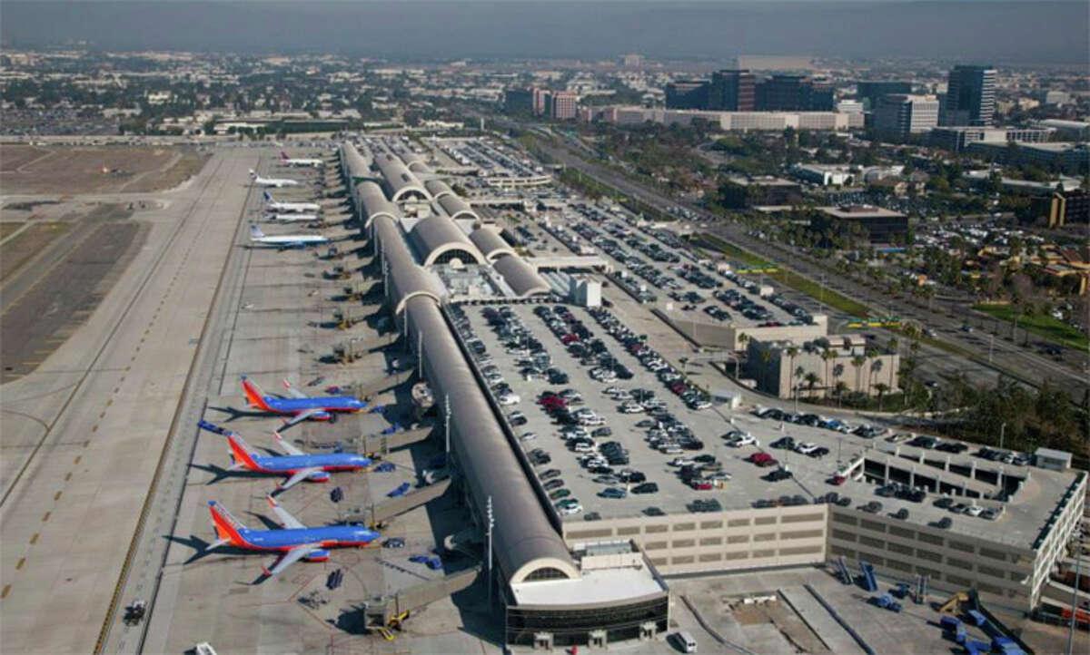 Orange County Airport was named for John Wayne 40 years ago.
