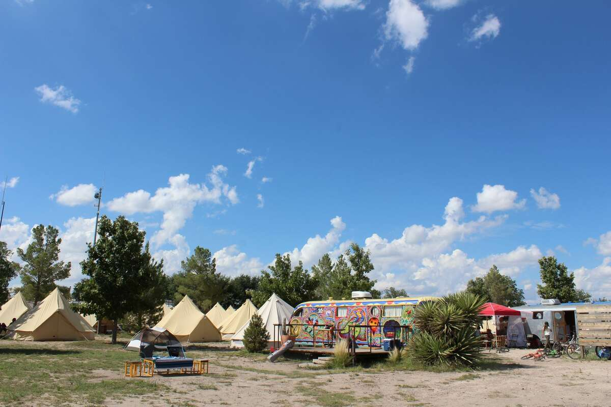 El Cosmico hosts the 15th annual Trans-Pecos Festival of Music + Love this fall.