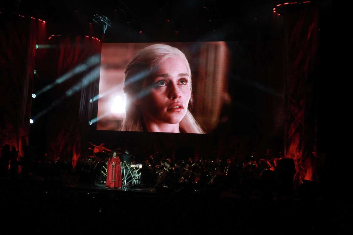 The Game of Thrones Live Concert Experience at the Cynthia Woods Mitchell Pavilion in the Woodlands on September 27, 2019.