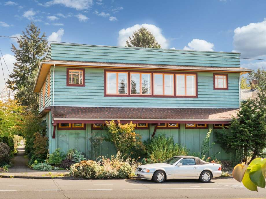 A former dormitory and IGA Supermarket is now a unique loft-like home in Ballard, asking $1.6M Photo: PorchLight Imaging