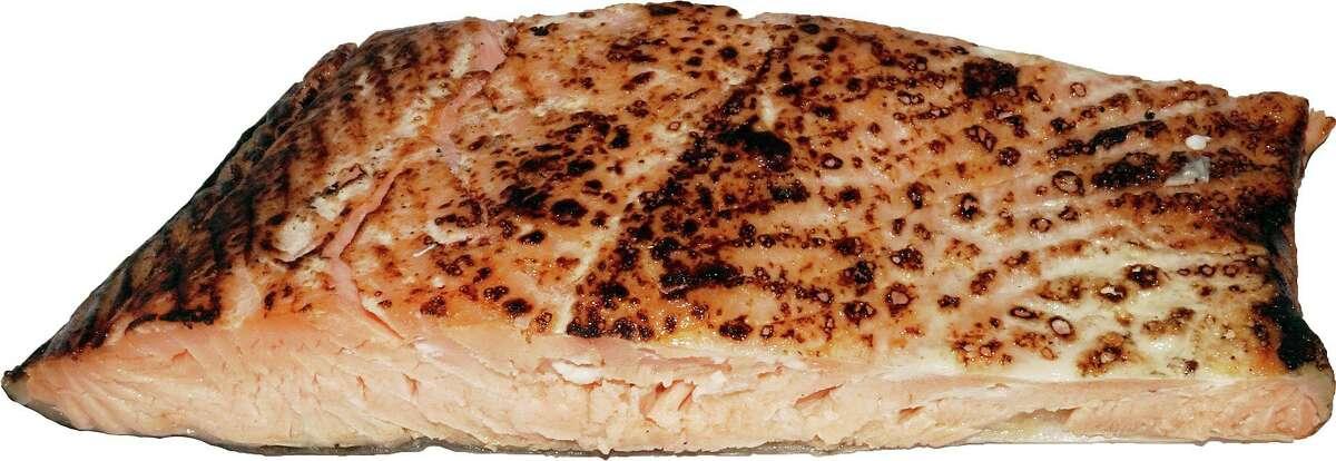 Senate President Martin Looney said his favorite food is broiled salmon.