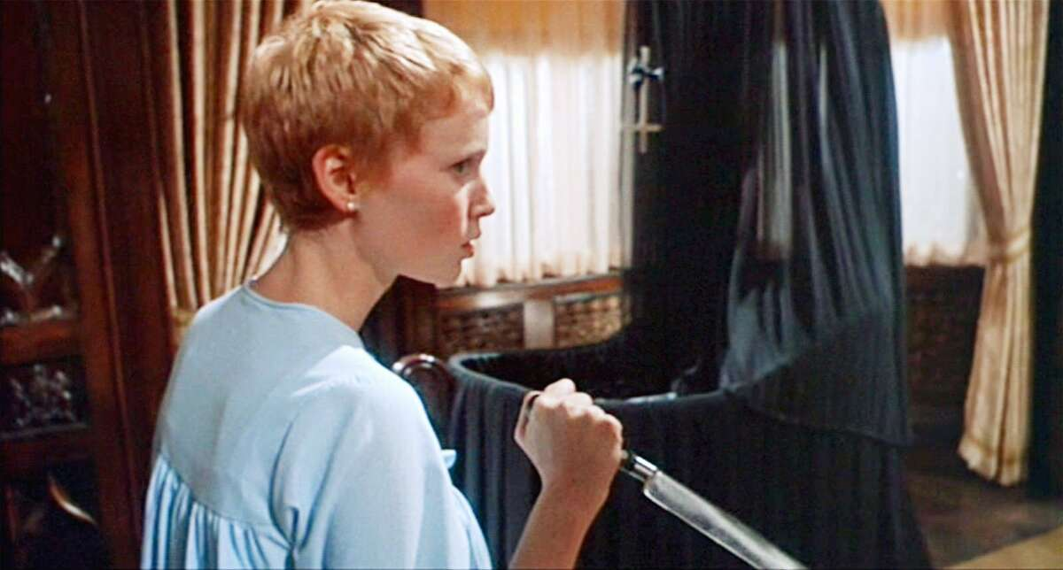 Rosemary's Baby (1968) Available on Hulu A young couple moves in to an apartment only to be surrounded by peculiar neighbors and occurrences. When the wife becomes mysteriously pregnant, paranoia over the safety of her unborn child begins to control her life.