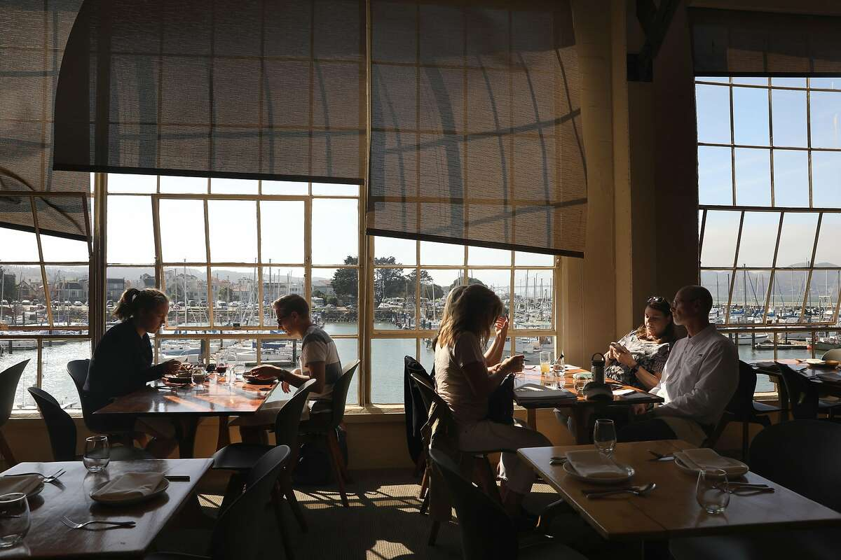 View of Greens restaurant seen on Thursday, Sept. 26, 2019, in San Francisco, Calif. Greens, a longstanding vegetarian restaurant is commemorating its 40-year anniversary this year.
