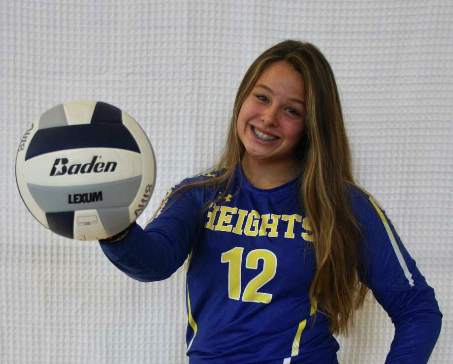 Alamo Heights sophomore outside hitter Kylie Wickley Photo: Courtesy Photo