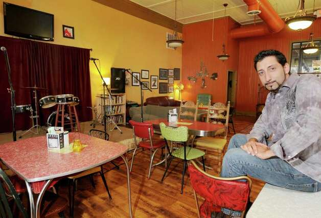 Sal Prizio, owner of Bread and Jam Cafe.   (Luanne M. Ferris/Times Union) Photo: LUANNE M. FERRIS