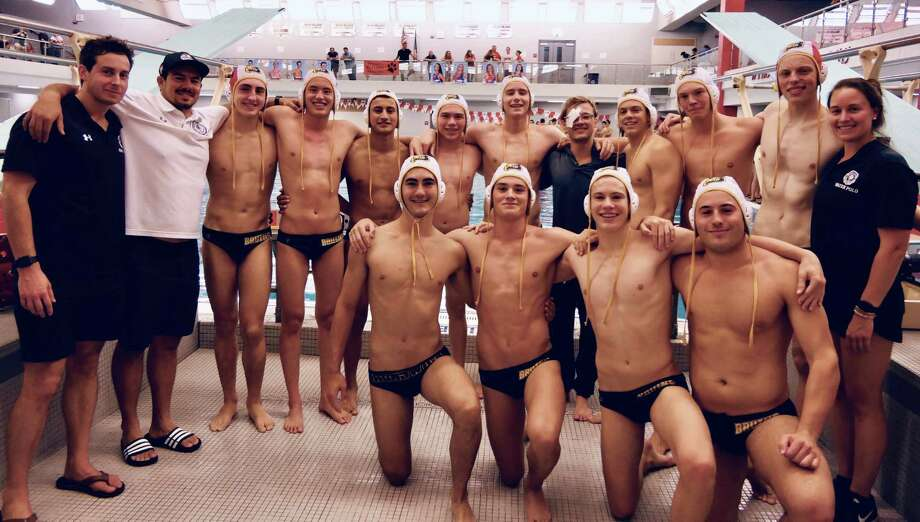 The Brunswick School water polo team won the Beast of the East Tournament in Reading, Pa., on Saturday, Sept. 28, 2019. Photo: Contributed Photo