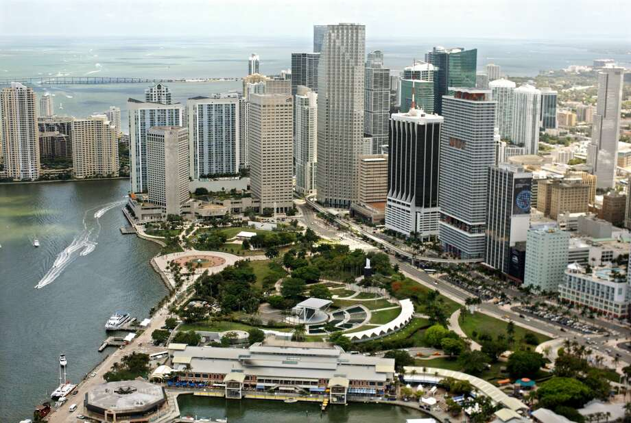 Miami-Fort Lauderdale-West Palm Beach, FL: No. 10   Startup density: 27.48%  Startup growth: 7.69%   Workers employed by startups: 9.39%  Self-employed workers: 6.8%  Education: 24.91% with bachelor's or higher  Cost of living: 108.4% Photo: Hoberman Collection/Universal Images Group Via Getty