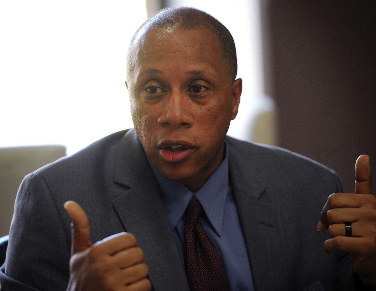 Bridgeport Police Captain Roderick Porter is also challenging Garcia's appointment.