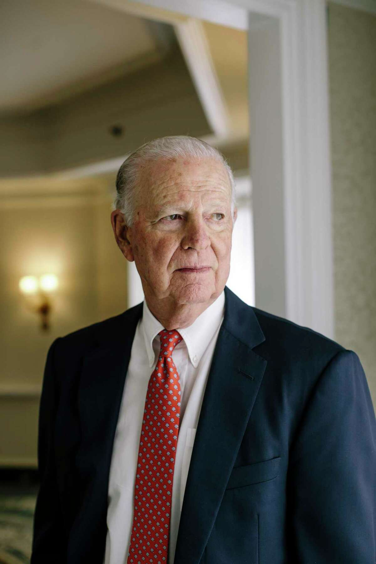 James Baker, a former secretary of State in the first Bush administration, is among the Republicans supporting a carbon tax as a way to tackle climate change.