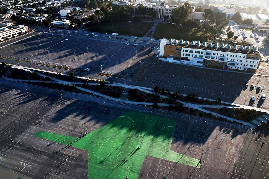 The Balboa Reservoir — now a parking lot for students at City College of San Francisco — will be developed into 1,100 units of housing, 550 of them affordable.