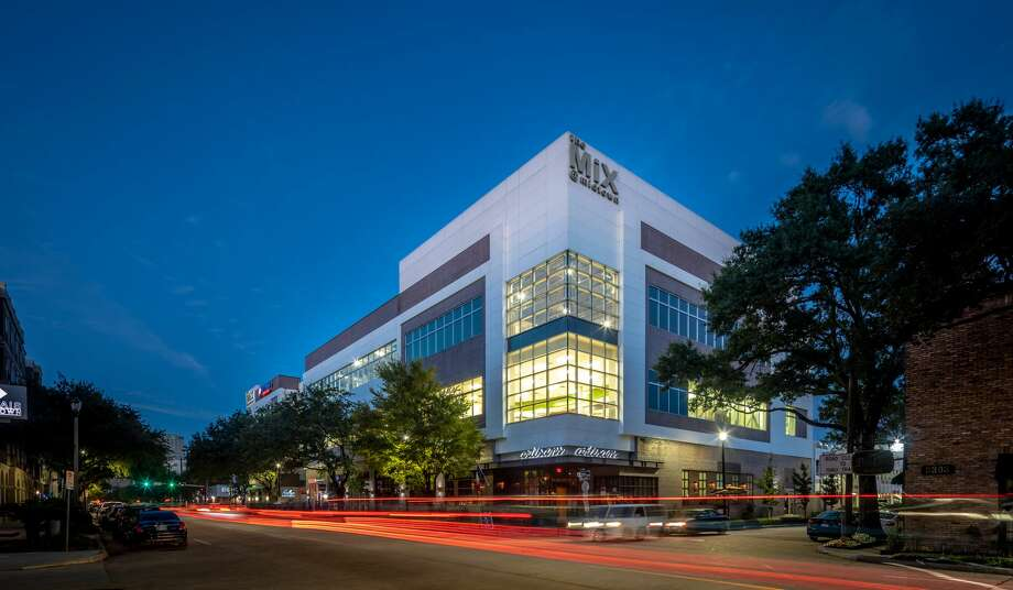 The Mix at Midtown is 100-percent leased. The building was acquired by a joint venture of Fifth Corner and Pointer Real Estate Partners. Photo: Slyworks Photography  /  Fifth Corner / SLYWORKS PHOTOGRAPHY
