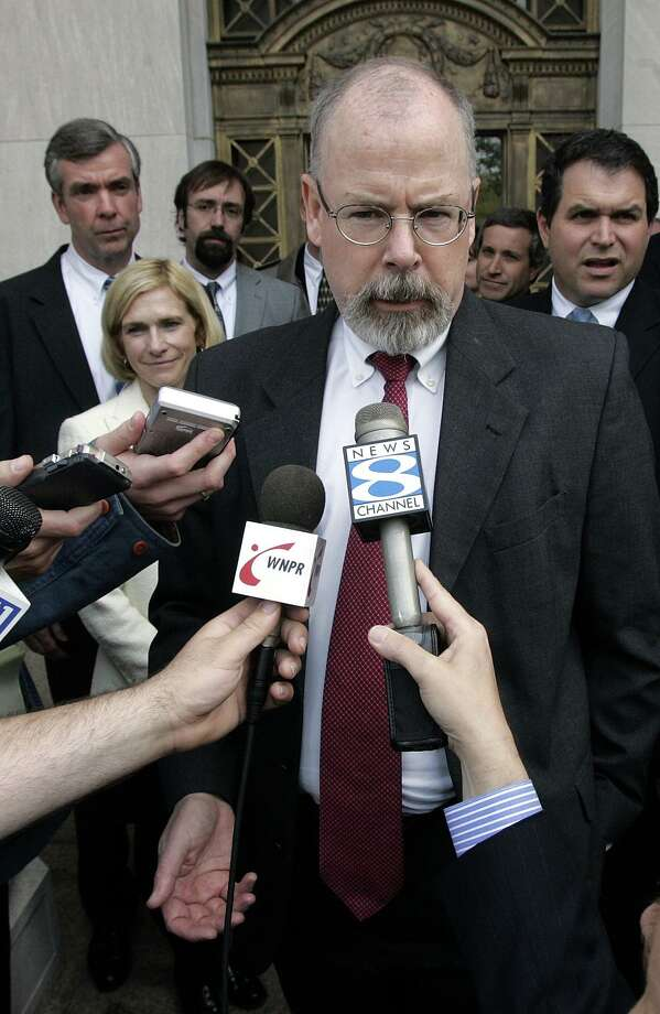 U.S. Attorney for Connecticut John Durham has been tapped by the Trump administration to investigate Ukraine's potential role in interfering in the 2016 election. Photo: Bob Child / ST / AP