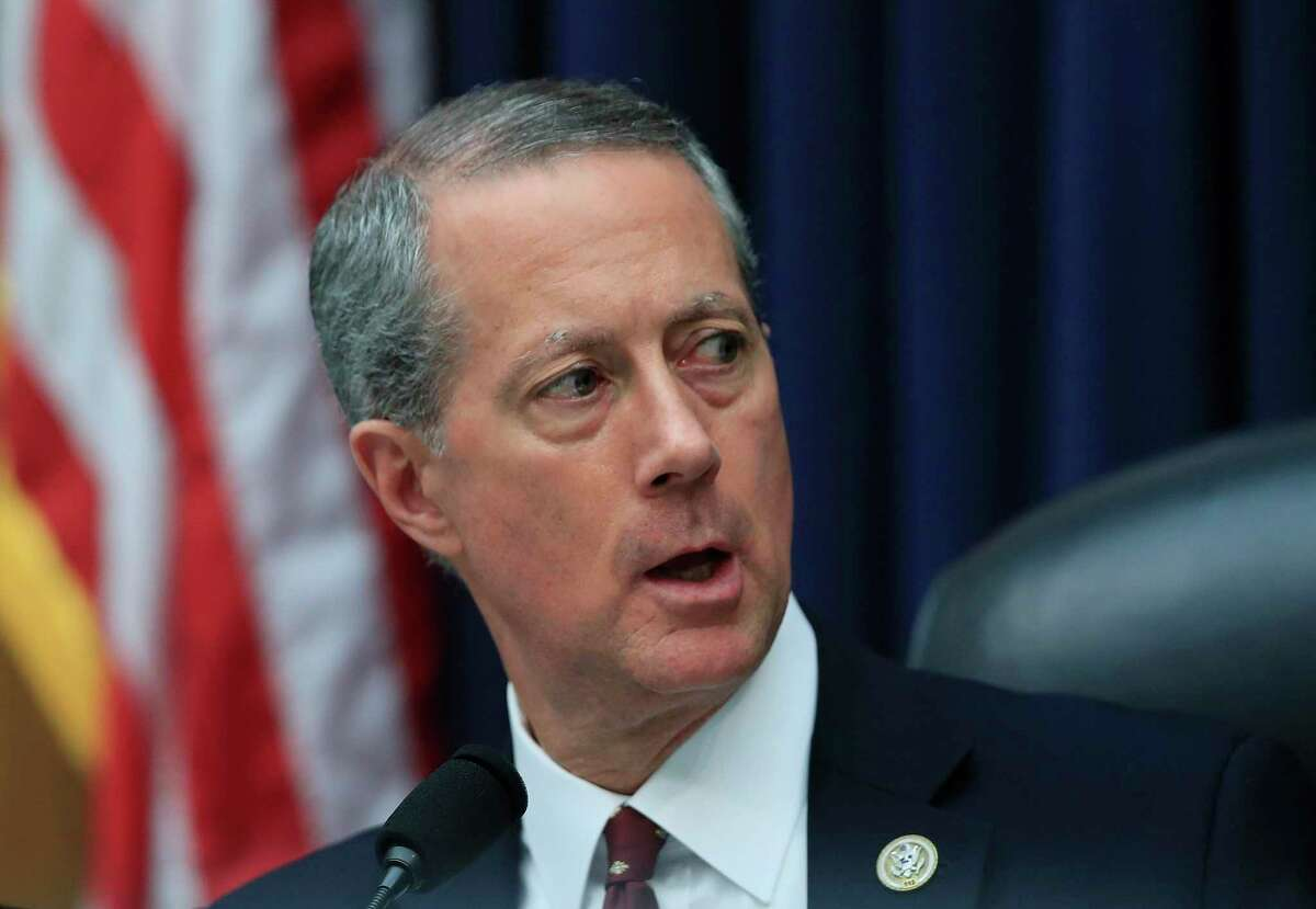 FILE - In this April 26, 2017, file photo House Armed Services Committee Chairman Rep. Mac Thornberry, R-Texas, speaks on Capitol Hill in Washington. (AP Photo/Manuel Balce Ceneta, File)