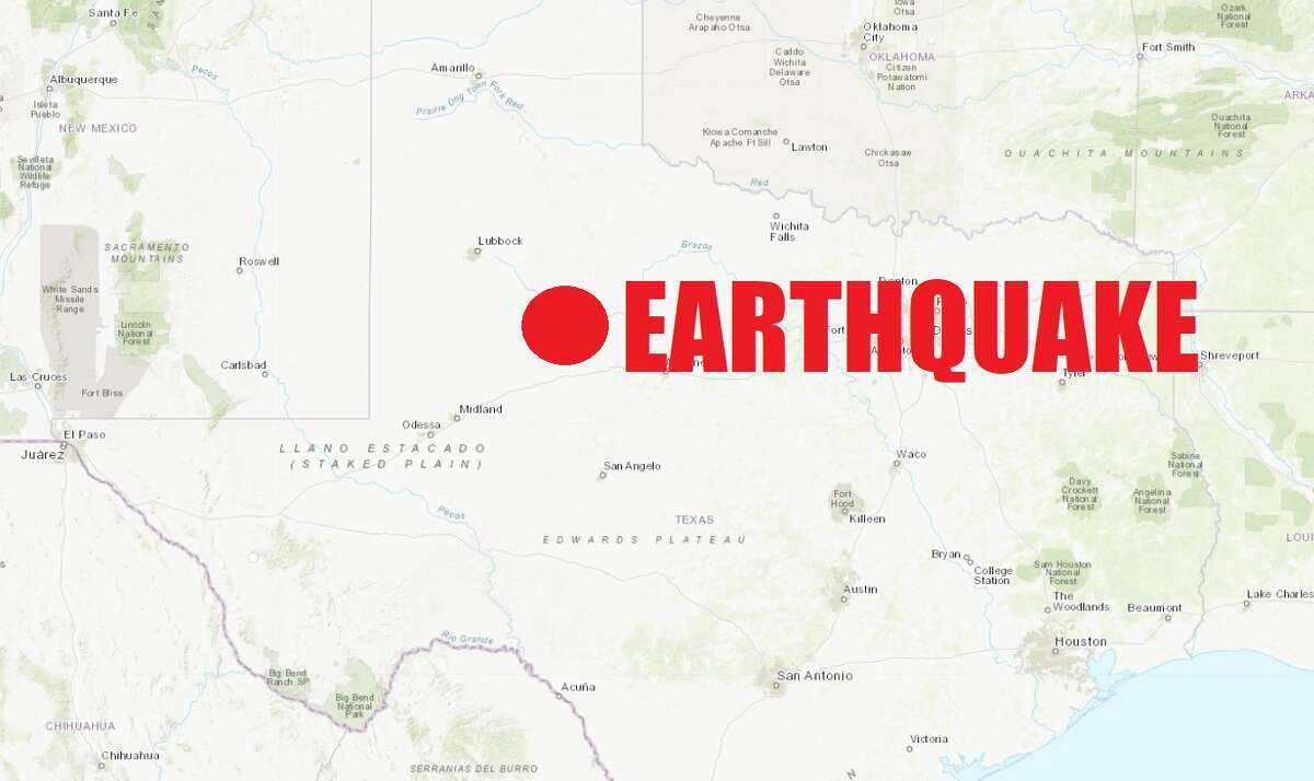 A 4.0-magnitude earthquake hit the edge of the Texas Pandhandle on Monday afternoon.