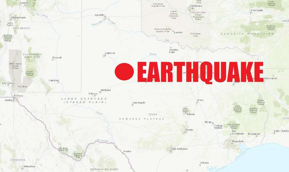 A 4.0-magnitude earthquake hit the edge of the Texas Pandhandle on Monday afternoon. Photo: U.S. Geological Survey