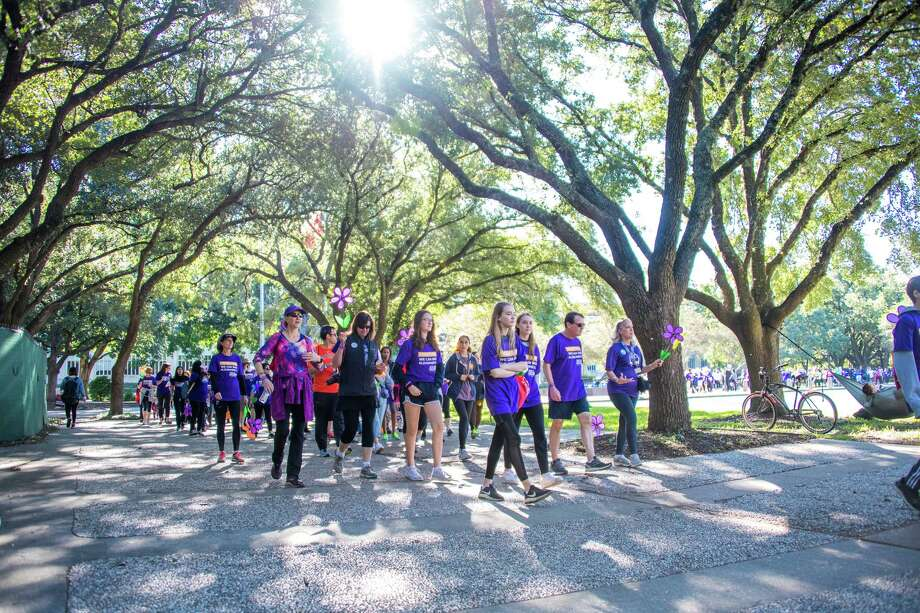 The 2019 Alzheimer's Association Houston Walk to End Alzheimer's is slated for Saturday, Nov. 2, at the University of Houston. Its leaders have a goal of raising awareness and $1 million to combat the difficult disease. Photo: Photo By Quy Ngo