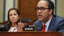 Rep. Will Hurd, R-Helotes, questions acting Director of National Intelligence Joseph Maguire on Sept. 26. The committee questioned Maguire about a recent whistleblower complaint reportedly based on U.S. President Donald Trump pressuring Ukraine President Volodymyr Zelensky to investigate leading Democrats as a favor to him during a recent phone conversation.