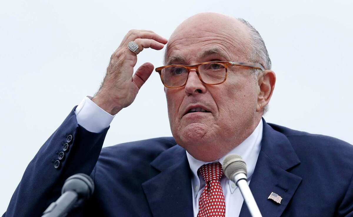 The New York State Bar Association says it is preparing an effort to remove former New York City Mayor Rudy Giuliani from its membership for suggesting a