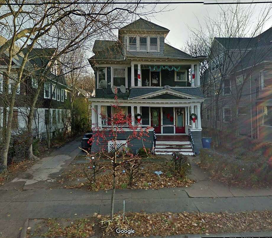 Firefighters battled an early morning blaze at a residence on Blake Street early Tuesday, Oct. 1, 2019. Photo: Google Street View