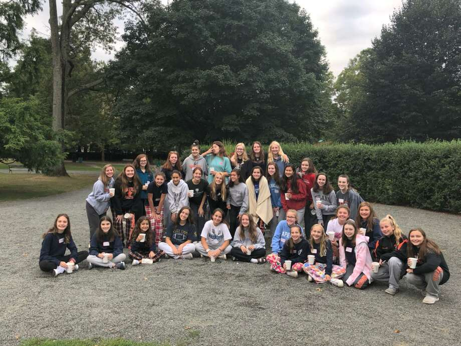 National Charity League (NCL) Ridgefield Chapter's hosted an annual breakfast for the class of 2022 and class of 2025 in September. Photo: Contributed Photo