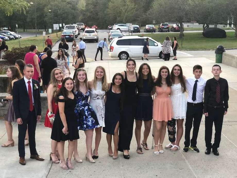 Shelton High School students celebrated Homecoming this past weekend. Students danced the night away with friends. Photo: Contributed Photo / Connecticut Post