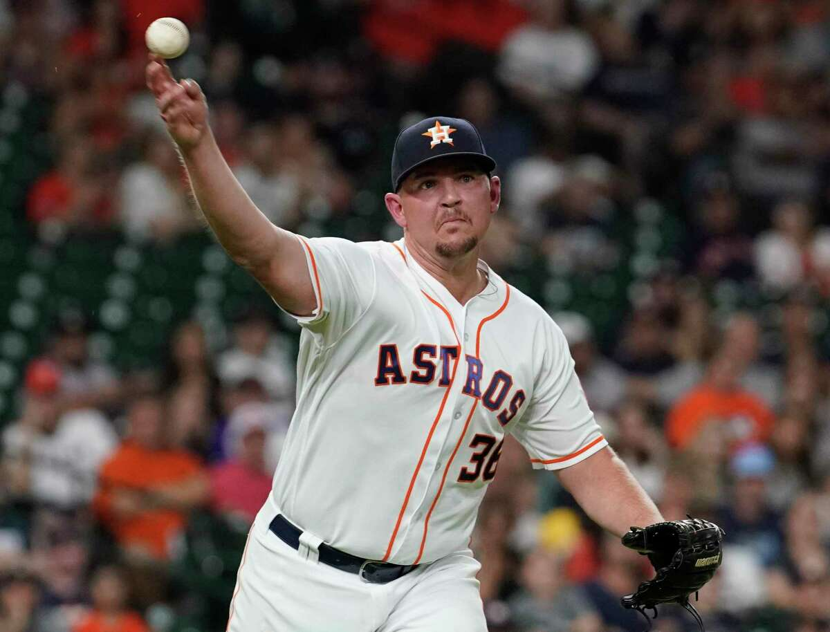 At home and on the road, versus lefties and righties, and goateed or not, Astros reliever Will Harris has been consistently excellent in 2019.