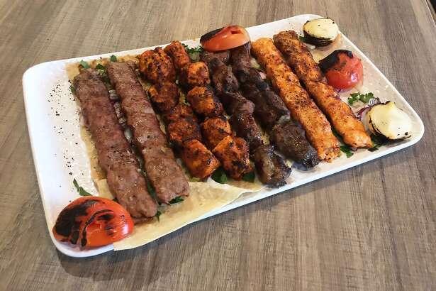 Family Kebab Plate