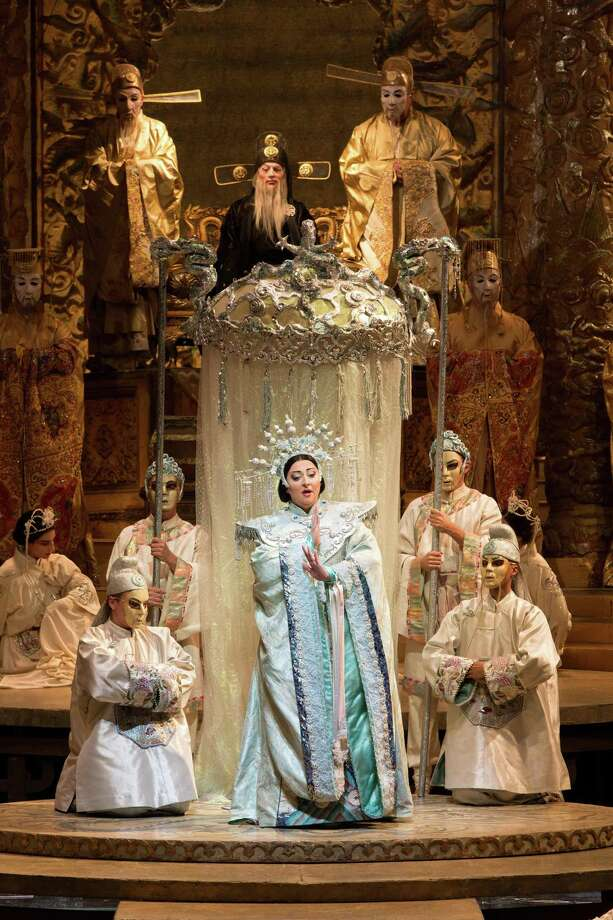 The Metropolitan Opera's Turandot will be screened on Oct. 14 at 2 p.m. at the Ridgefield Playhouse, 80 East Ridge Road, Ridgefield. Tickets are $15-$25. For more information, visit ridgefieldplayhouse.org. Photo: Ridgefield Playhouse / Contributed Photo / Marty Sohl /Metropolitan Opera / Marty Sohl/Metropolitan Opera
